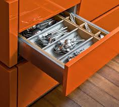 best kitchen drawers ideas 7855 baytownkitchen awesome kitchen drawers design idea with orange colors