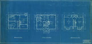 floor plan blueprint the of modern michigan digitizing michigan s past