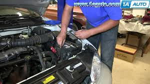 1995 jeep battery how to install replace dead battery 1995 05 chevy cavalier