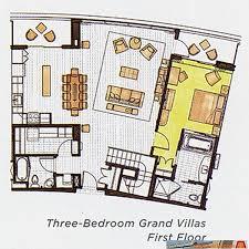 grand californian suites floor plan lake tower floorplan