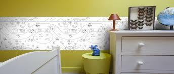 frise pour chambre frise à colorier pour la déco d une chambre d enfant déco cool com