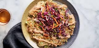 sriracha mayo nutrition okonomiyaki with chinese broccoli sriracha mayo and sesame