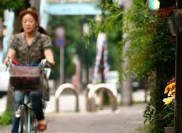 Blind Man Rides Bike How To Ride A Bicycle In Japan
