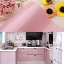 removable wallpaper for kitchen cabinets amazon com yazi gloss self adhesive vinyl kitchen cupboard door