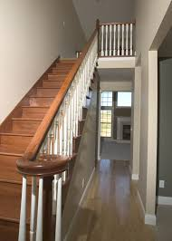 Wood Interior Handrails Interior Handrails Njw Construction