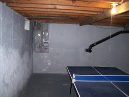 painting unfinished basement walls image painting unfinished