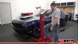 Redline Muscle Cars - redline ml3000 portable rolling mini car lift jack youtube