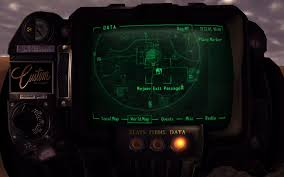 Fallout Old World Blues Map by Owb Big Mt Crater Exit Passage At Fallout New Vegas Mods And