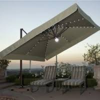 Offset Patio Umbrella With Base Comfortchannel Large Outdoor Patio Umbrellas Umbrella Bases