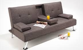 Fabric Sofa Bed Cinema U0027 Sofa Bed Groupon Goods