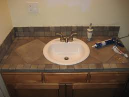 Bathroom Vanity Countertop Bathroom Bathroom Vanity Countertop Ideas Countertops Tile And