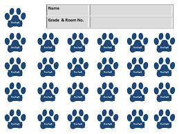 paw print sheets box tops collection sheets search organization
