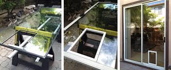 sliding glass door installation pet doors sales and installation san jose santa cruz areas 1