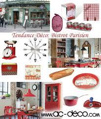 accessoire deco cuisine tendance de décoration bistrot parisien sur ac deco com des