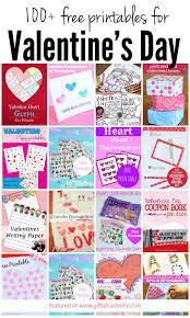100 free valentine u0027s day printables gift of curiosity