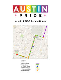 Austin Mn Map by Austin Pride Parade 2017 Map Street Closures And More Details