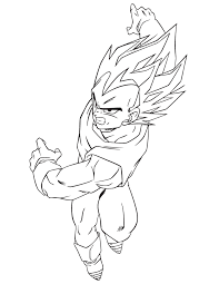 dragon ball vegeta boys coloring u0026 coloring pages