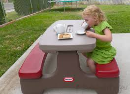 little tikes bench table why i love little tikes kids picnic tables finding the best kids