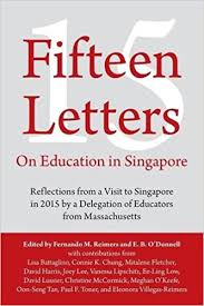fifteen letters on education in singapore reflections from a