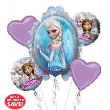 frozen balloons heart frozen balloon bouquet 5pc from category birthday balloons