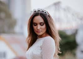 bridal tiara uniquely handcrafted gracie diamante bridal tiara simona bridal