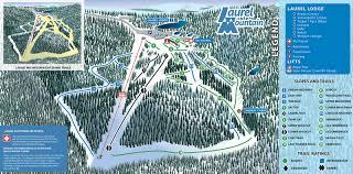 Montana Ski Resorts Map by Slopes U0026 Trails Laurel Mountain Pa Pennsylvania Ski Resort