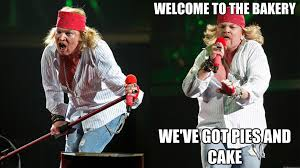 Axl Rose Meme Cake - axl rose tries to kill meme internet reacts as expected