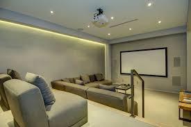 perfect couch and chair seating stadium style home theaters