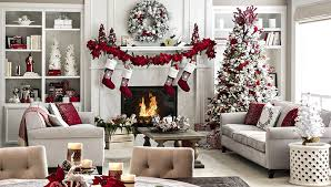 OpenPlan Living Space Holiday Decor Ideas