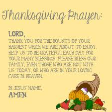 image result for thanksgiving prayer health