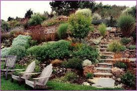 Steep Hill Backyard Ideas Steep Terrain Beautiful Makeover Backyard Patios And