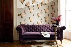 Purple Velvet Chesterfield Sofa by Sofa Com Friday Reveal Oscar