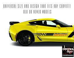 corvette racing stickers c4 corvette decals ebay