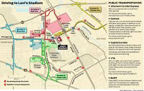 Bart San Jose Extension Map by 49ers Fans Expect A Time Slog To Levi U0027s Stadium Sfgate