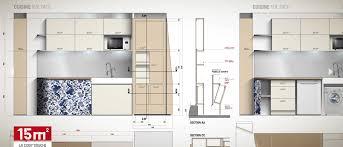 cuisine 12m2 plan cuisine 12m2 sqm kitchen th district with plan