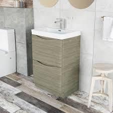 easy bathrooms erin floor standing 600 vanity unit u0026 composite