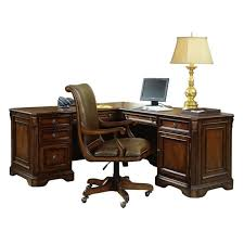 l shaped desk with hutch right return hooker furniture brookhaven executive l shaped computer desk 281