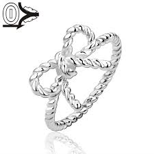 online get cheap twisted bow ring aliexpress com alibaba group