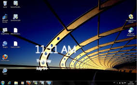 windows 8 desktop clock windows download