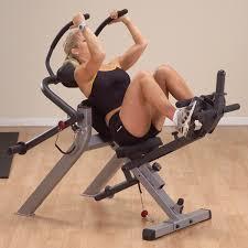 Leg Lift Bench Gab300 Body Solid Semi Recumbent Ab Bench Body Solid Fitness