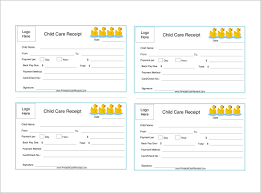 daycare receipt template 17 free word excel pdf format