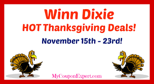 winn dixie deals november 15th 23rd my coupon expert