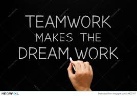 Many Hands Make Light Work Quote Teamwork Makes The Dream Work Stock Photo 29403707 Megapixl