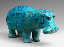 standing hippopotamus work of art heilbrunn timeline of art