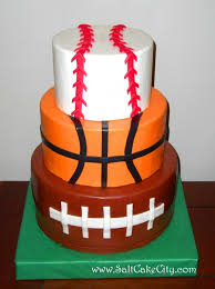 birthday cakes images sports birthday cakes for kids all sports