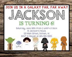 design tips easy to create star wars birthday invitations