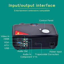 home theater systems with hdmi inputs outputs prohome ph5 500 lumens 800 600 led projector home theater hdmi usb