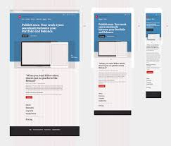 back office layout design behance adobe portfolio marketing by andrew couldwell