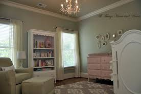 Shabby Chic Nursery Furniture by Gray And Pink Shabby Chic Style Nursery Makeover For A Baby