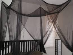 amazon com white 4 corner poster bed canopy mosquito net full